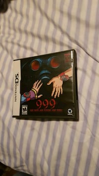 999: 9 hours, 9 persons, 9 doors Nintendo DS