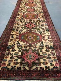 Authentic hand knotted Persian Rug / Runner 2' X 9' FORTGEORGEGMEADE