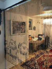 Chinese Wooden Bead Curtains