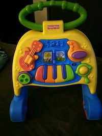 yellow and blue Fisher-Price learning walker El Paso, 79936