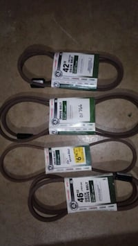 Lawnmower belts