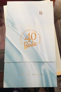CelebratingBarbje -  forty Years of Dreams l Limited Edition Barbie Maple Ridge, V2X 4R7