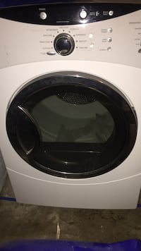 White front load clothes dryer Marlboro, 07726