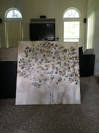 Kirkland Canvas Tree Painting