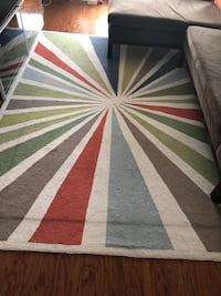 white, red, and green area rug Ashburn, 20147