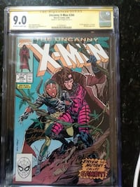 Marvel The Uncanny X-Men comic book issue 266