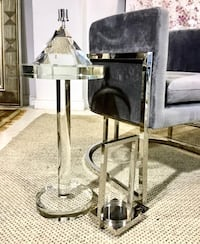 Side table- tempered glass (NEW)
