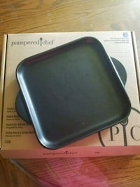 Rockcrok Small Grill Stone Pampered Chef