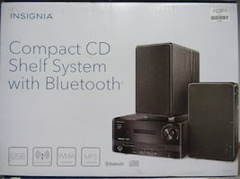 INSIGNIA MINI CD HIFI SYSTEM WITH BLUETOOTH - NS-S