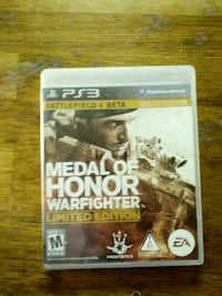 PS3 medal of honor warfighter limited edition game Wadena, 56482