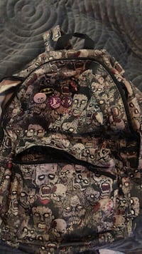 Glow in the dark Zombie Backpack Laval, H7L 3H3