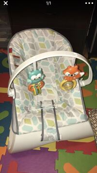 Fisher Price Vibrating Chair with toys  East Providence, 02914