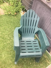 Four (4) child resin patio chairs Mississauga, L5M 0H2