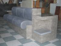 store couch/stool