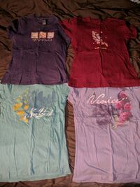 4 assorted tops bundle Sz Small Lakeland, 33810