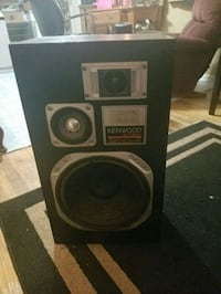 black and gray subwoofer speaker Indianapolis, 46203
