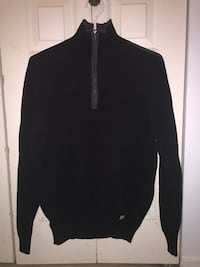 Black turtleneck knit sweater Burnaby, V3N 1T3