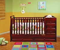 Athena Daphne Convertible Crib and Changer Westerville