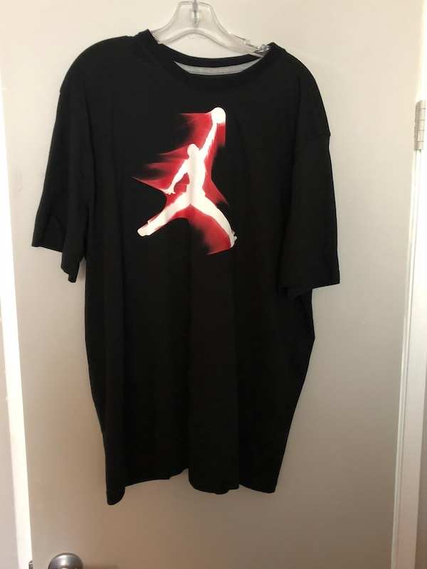 order authorized site lace up in Air Jordan t shirt size xxl, great condition