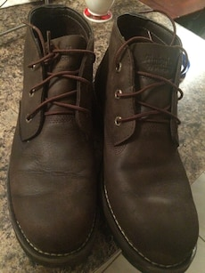 brown Timberland workboots