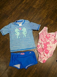 4T swim suit lot - price per picture Oakville