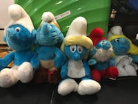 Lot of vintage smurfs from the 80s! Great condition