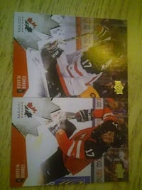 two ice hockey trading cards Vaughan, L4H 1M6