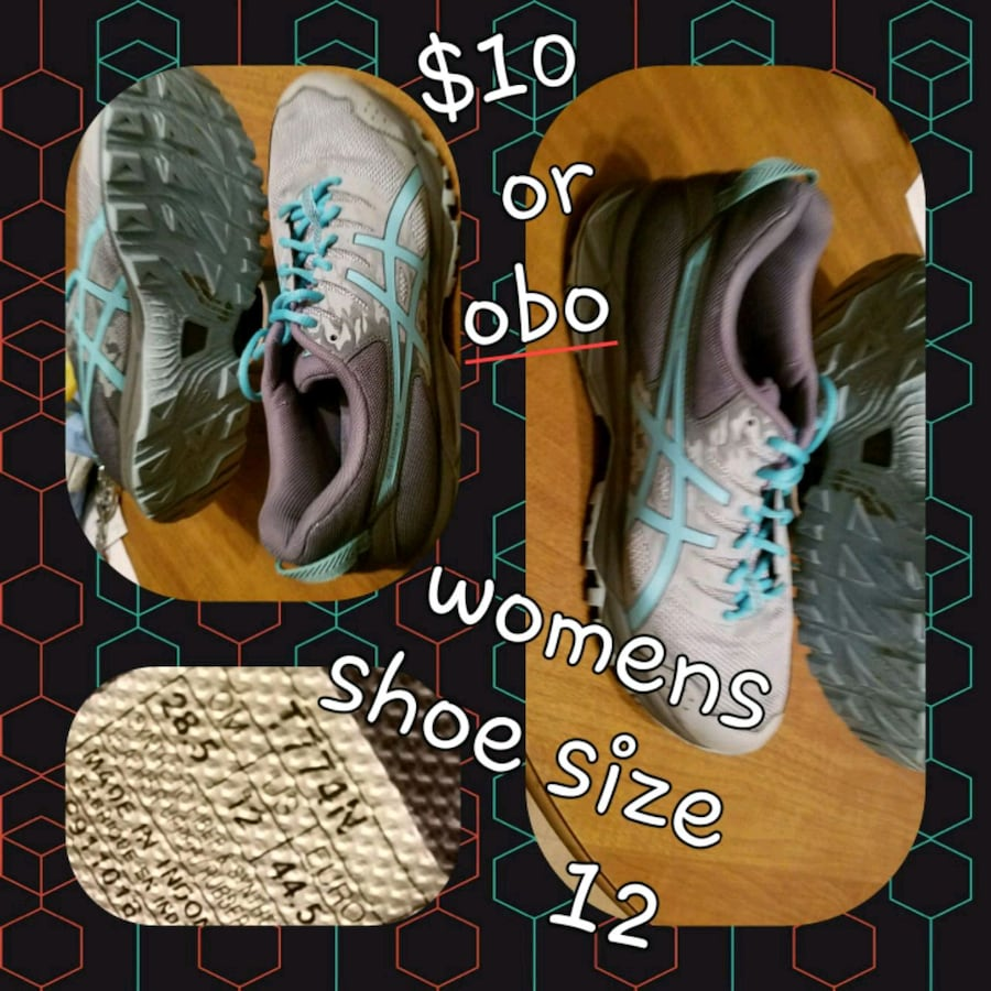 Women size 12 shoes $10 or obo