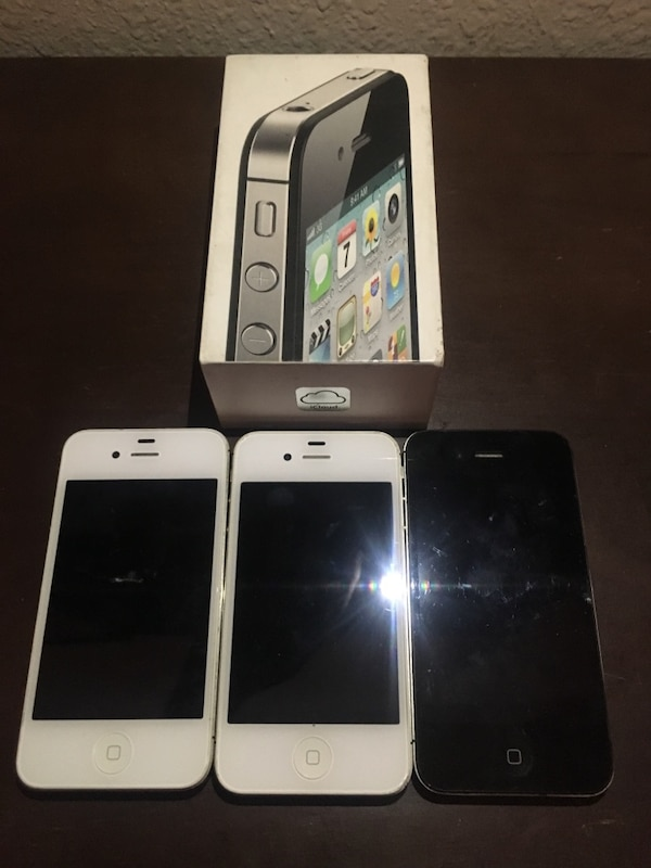 7227c793d08 iPhone 4/4S Phones (See Details) usado en venta en Houston - letgo