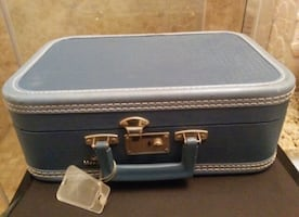 Vintage Monarch Mini Suitcase