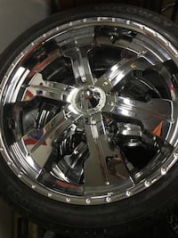 24inch wheels with good tires Rosedale, 21237