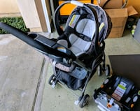 Graco baby seat, stroller, and base combo Long Beach, 90804