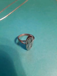 Sterling silver ring 70 km