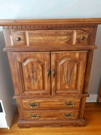 Antique cabinet - Beautiful sturdy wood Toronto, M8W 4J6