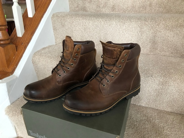 Timberland RARE Leather brown size 12 8387ccc5-c4a1-4dbf-b157-8c0d1bb1f0d7