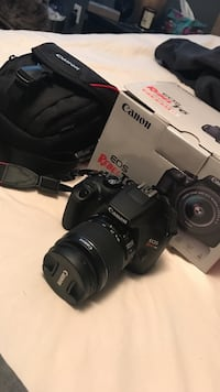 Canon rebel t-6, brand new, with camera bag Burnaby, V5C 3Y5