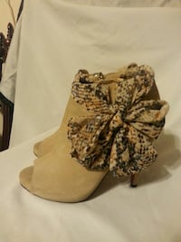 Open toe Ankle Boots