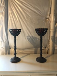 Cast Iron Candle Holders or Plant stands. Manassas, 20112