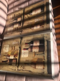 four wine bottle paintings Silver Spring, 20910