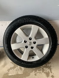 Winter wheels and tire set for Altima or other car