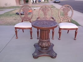 Formal Dining Table w 6 Chairs