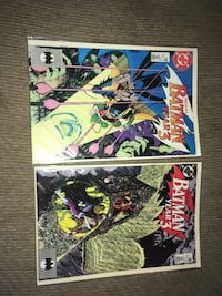 Two DC Comics Batman Year 3 part 3 and 4 The Plains, 20198