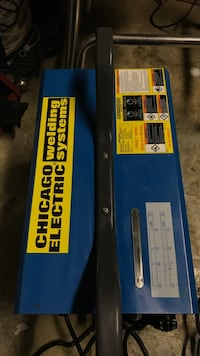 Arc welder 135AC/105DC amp Chicago electric welding system new never used bought it for $160 to learn but never had the time  Bedford Park, 60501