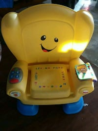 yellow and blue Fisher-Price learning chair Corpus Christi, 78412