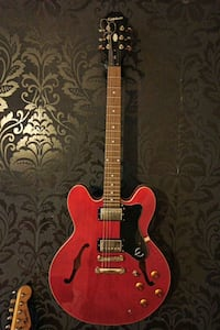 Epiphone Dot Cherry Semi Hollow Elektro Gitar Yalı, 34844