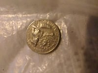 round silver-colored coin Bladensburg, 20710