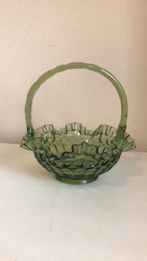 Photo Fenton vintage glass no chips