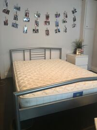 Double bed frame and mattress Laval, H7R