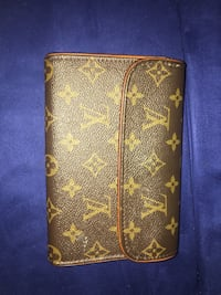 Monogram Louis Vuitton leather Wallet Fairfax, 22030