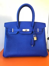Hermes Authentic Brand New Birkin Electric Blue with Gold Hardware! New York, 11211